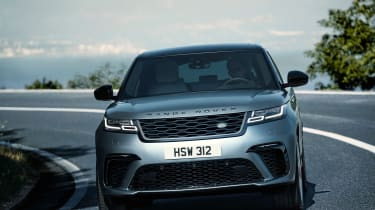 Range Rover Velar SV Auto - more front tracking