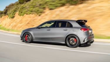 Mercedes-AMG A45 S side