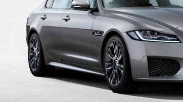 Jaguar XF Chequered Flag special edition
