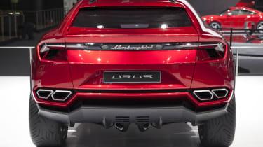 Lamborghini Urus SUV rear carbon diffuser