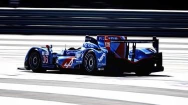 Alpine A450 racing car