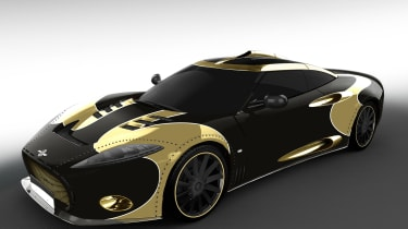 Spyker Aileron SE - front gold