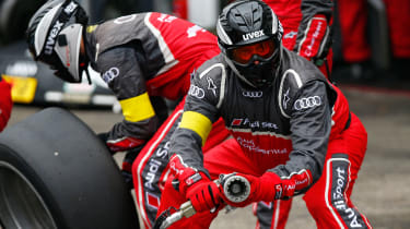 Audi DTM pit crew