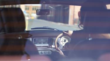 David Brown Automotive Mini Remastered interior arty