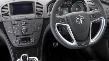 Vauxhall Insignia VXR seats