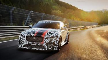 Jaguar XE SV Project 8 - front 2