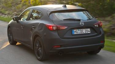 Mazda Skyactive X prototype - rear