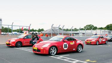 evo racing Nissan 350Z