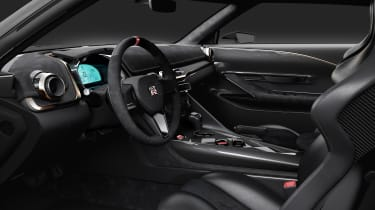 New Nissan GT-R50 by Italdesign prototype cabin