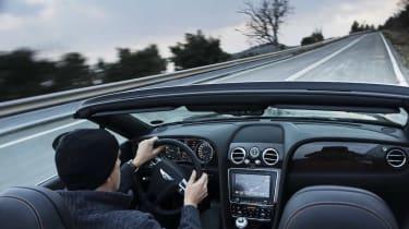 Bentley Continental GTC V8 interior