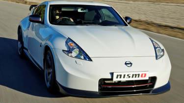 2013 Nissan 370Z Nismo white front