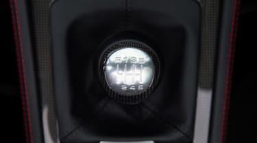 Porsche 718 Boxster GTS – gear lever