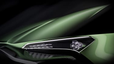 Aston Martin Vulcan - headlight