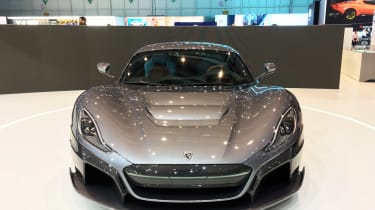 Rimac C_Two - nose show