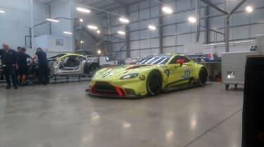 2018 Aston Martin Vantage GTE – front quarter