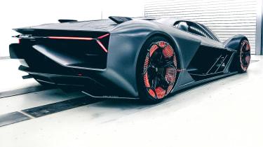 Lamborghini Terzo Millennio - rear quarter