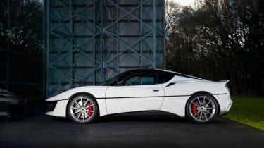 James Bond Lotus Evora Sport 410 - side profile