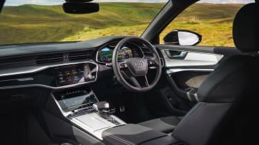 Audi A6 Saloon S-Line - dash