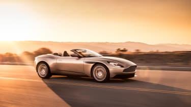 Aston Martin DB11 Volante - profile down