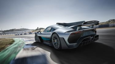 Mercedes-AMG Project One - rear quarter