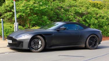 Aston Martin DBS Volante - side