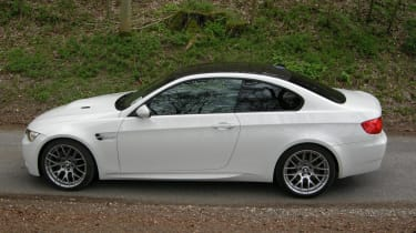 BMW M3 Competition profile