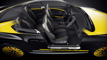 Bentley 'Continental 24' Supersport - yellow interior