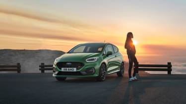 2022 Ford Fiesta ST –front quarter