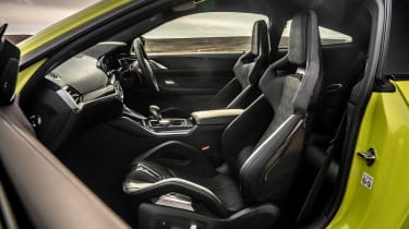 BMW M4 Competition 2021 review – seats