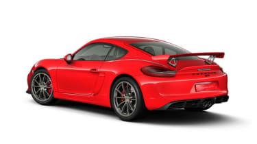 Porsche Cayman GT4 configurator