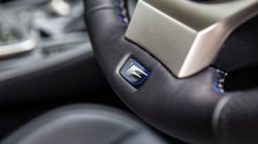 Lexus RC F - Steering wheel
