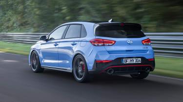2020 Hyundai i30 N – rear quarter