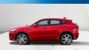 Jaguar E-Pace - driving static R Design profile