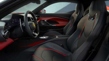 2022 Ferrari 296 GTB – interior