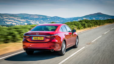 Mazda 6 MY18 review - rear