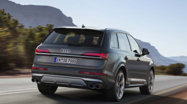 Audi SQ7 TDI - rear