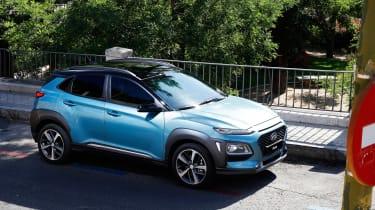 Hyundai Kona - profile static