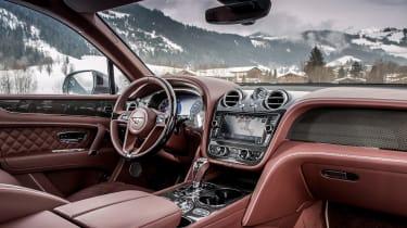 Bentley Bentayga V8 – interior