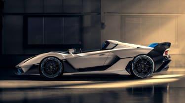 Lamborghini SC20 speedster side