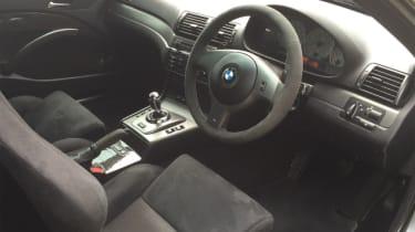 BMW M3 CSL – interior