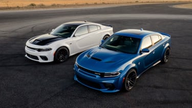 Dodge Charger SRT Hellcat Widebody duo
