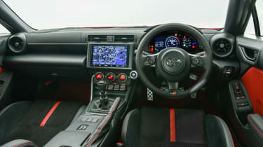 2022 Toyota GR86 - interior