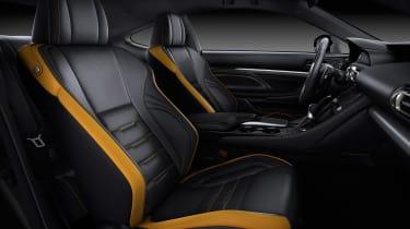 Lexus RC coupe facelift - interior