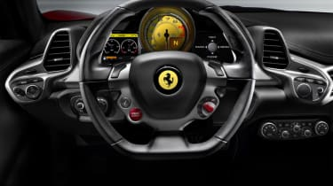 Ferrari 458 iPod connection