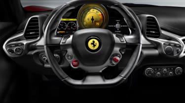 Ferrari 458 iPod connection