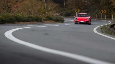 Porsche Cayman GTS Japan - front