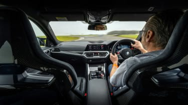 BMW M4 Competition Sao Paulo on track – cabin