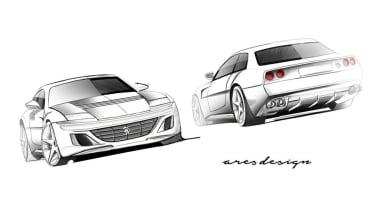 Ares Ferrari 412 homage
