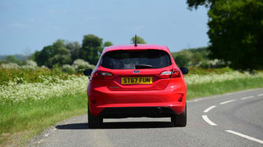 Ford Fiesta ST-Line UK - rear
