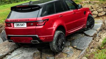Range Rover Sport - off road crawl